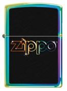 Зажигалка ZIPPO Classic  Rainbow Logo с покрытием Spectrum 151