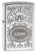 Зажигалка широкая Zippo an American Classic 250