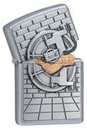 Зажигалка Zippo Classic с покрытием Street Chrome™ 29555