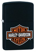 Широкая зажигалка Zippo Harley-Davidson 218HD.H252