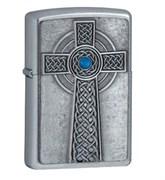 Зажигалка широкая Zippo Celtic Cross 20776