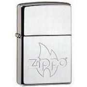 Широкая зажигалка Zippo Flame 250