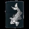 Широкая зажигалка Zippo Fsc black matte 24713 - фото 4885