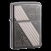 Широкая зажигалка Zippo Venetian Stripe 24038 - фото 4975