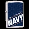 Широкая зажигалка Zippo Us Navy 24813 - фото 7164