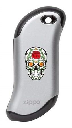 Аккумуляторная грелка USB Zippo Rose Sugar Skull: HeatBank 9s - фото 13180
