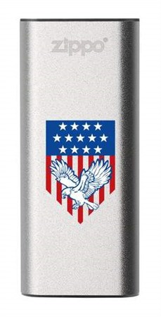 Аккумуляторная грелка USB Zippo Eagle and American Flag: HeatBank 3 - фото 13214
