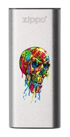 Аккумуляторная грелка USB Zippo Paint Splatter Skull: HeatBank 3 - фото 13238