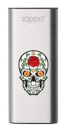 Аккумуляторная грелка USB Zippo Rose Sugar Skull: HeatBank 3 - фото 13244