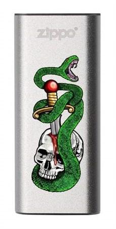 Аккумуляторная грелка USB Zippo Skull, Snake, & Dagger: HeatBank 3 - фото 13256