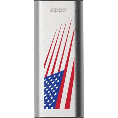 Аккумуляторная грелка USB Zippo American Flag: HeatBank 3 - фото 13474