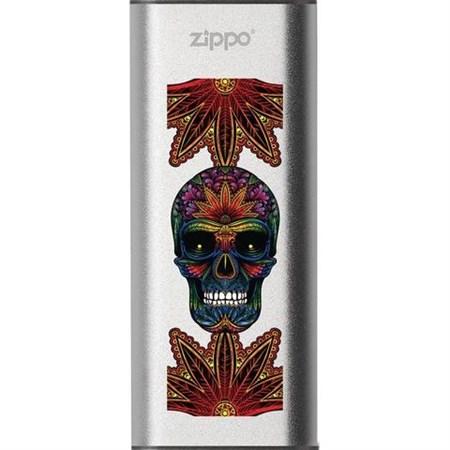 Аккумуляторная грелка USB Zippo Psychedelic Skull: HeatBank 3 - фото 13495