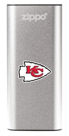 Аккумуляторная грелка USB Zippo NFL Kansas City Chiefs: HeatBank 3 - фото 13543