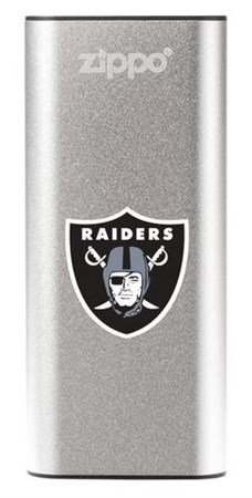 Аккумуляторная грелка USB Zippo NFL Las Vegas Raiders: HeatBank 3 - фото 13546