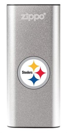 Аккумуляторная грелка USB Zippo NFL Pittsburgh Steelers: HeatBank 3 - фото 13576