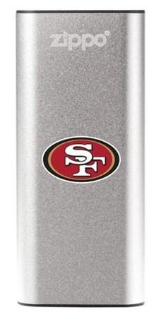 Аккумуляторная грелка USB Zippo NFL San Francisco 49ers: HeatBank 3 - фото 13579