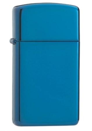 Узкая зажигалка Zippo Sapphire 20494 - фото 4502