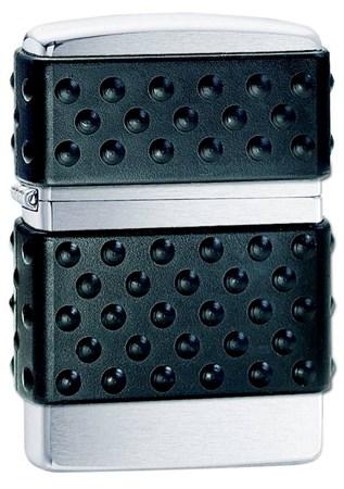 Широкая зажигалка Zippo Black Zip Guard 200 ZP - фото 4520