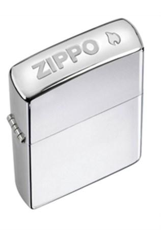 Широкая зажигалка Zippo Zippo Stamp 24750 - фото 4591