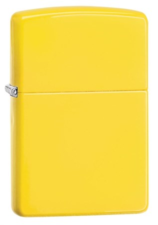 Широкая зажигалка Zippo Lemon matte 24839 - фото 4601