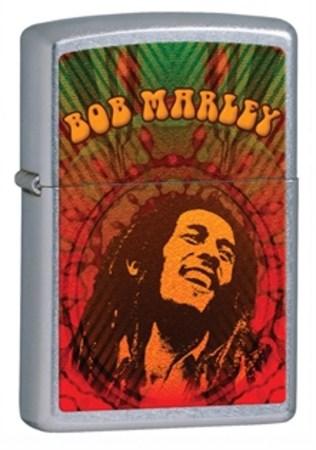 Широкая зажигалка Zippo Bob Marley 24991 - фото 4614