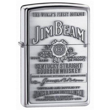 Широкая зажигалка Zippo Jim Beam 250JB 928 - фото 4616