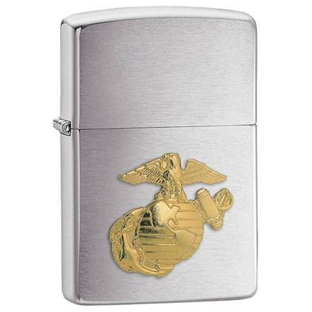 Широкая зажигалка Zippo Marines Emblem 280MAR - фото 4639