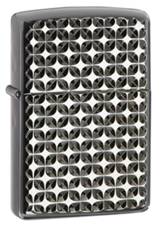 Широкая зажигалка Zippo Aromor Diamond Cut 28186 - фото 4644