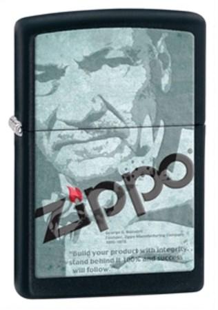 Широкая зажигалка Zippo Classic 28300 - фото 4666