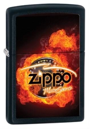 Широкая зажигалка Zippo 28335 - фото 4679
