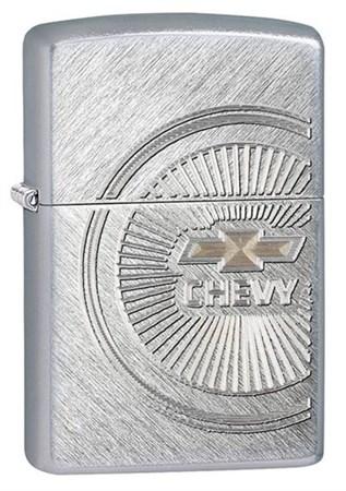 Широкая зажигалка Zippo Chevy 28423 - фото 4695