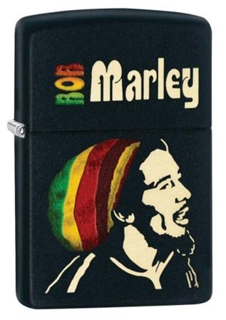 Широкая зажигалка Zippo Bob Marley 28426 - фото 4696
