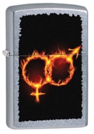 Широкая зажигалка Zippo 28446 - фото 4708