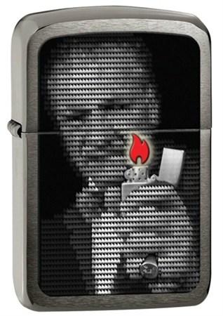 Широкая зажигалка Zippo Replica 1941 Mr. Blaisdel 28452 - фото 4710