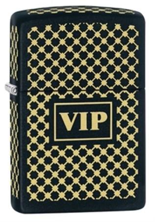 Широкая зажигалка Zippo VIP 28531 - фото 4724