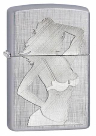 Широкая зажигалка Zippo Sexy Girl Silhouette 28680 - фото 4752