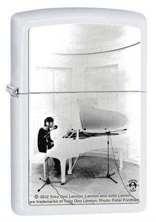 Широкая зажигалка Zippo John Lennon 28731 - фото 4755