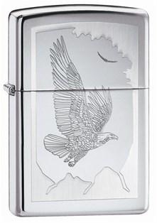 Широкая зажигалка Zippo Birds Of Prey 21069 - фото 4823