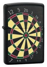 Широкая зажигалка Zippo Dart Board 24332 - фото 4863
