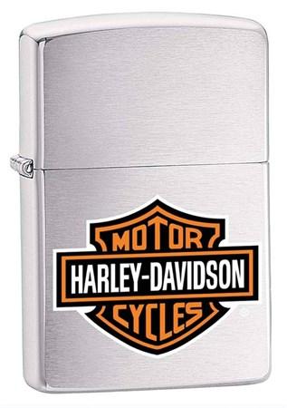 Широкая зажигалка Zippo Harley-Davidson 200HD.H252 - фото 4894
