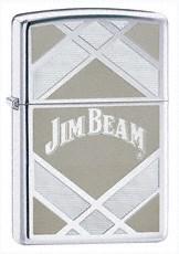 Широкая зажигалка Zippo Jim Beam 24550 - фото 4908