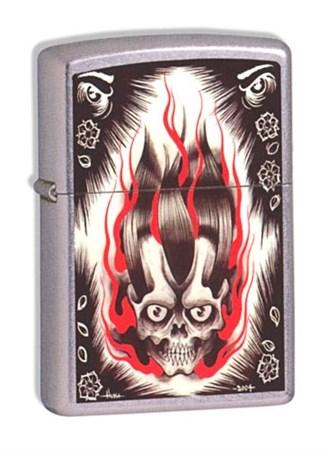 Широкая зажигалка Zippo Soul Crusher 21098 - фото 4964