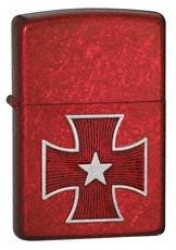 Широкая зажигалка Zippo Starry cross 21150 - фото 4965