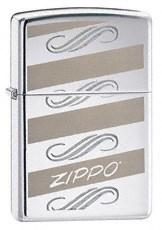 Широкая зажигалка Zippo Windswept Zippo 24456 - фото 4979