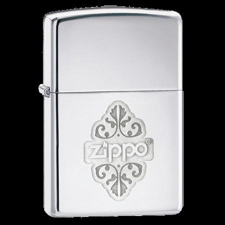 Широкая зажигалка Zippo Filgree 24803 - фото 4991