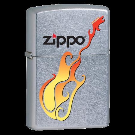 Широкая зажигалка Zippo Guitar 24805 - фото 4992