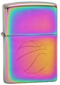 Широкая зажигалка Zippo Basketball 151 - фото 5033