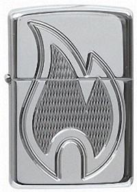 Широкая зажигалка Zippo Classic 20975 - фото 5075