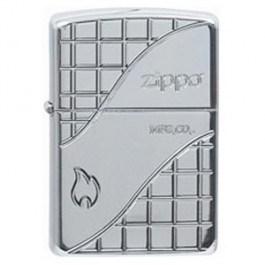 Широкая зажигалка Zippo Armor Deep 20977 - фото 5077