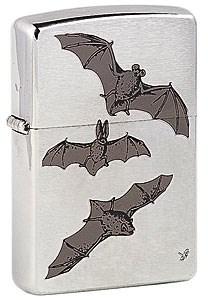 Широкая зажигалка Zippo Bats 200 - фото 5085